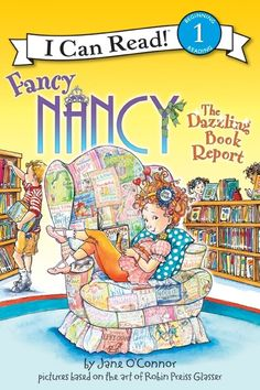 I Can Read Book 1 Fancy Nancy: The Dazzling Book Report    By Jane O'Connor / Available at www.BookLodge.com - Lowest Priced English and Chinese Online Bookstore for Children and Parents Worldwide