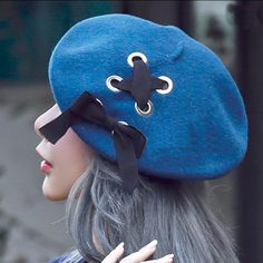 2016 Fashion Harajuku Urban Style Winter Hats For Women Painter Wool Beret Solid New Top Quality Warm Beret Women