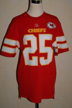 NFL TEAM APPAREL Kansas City Chiefs Jersey #25 Jamaal Charles Size Medium NWT #NFLTEAMAPPAREL #KansasCityChiefs