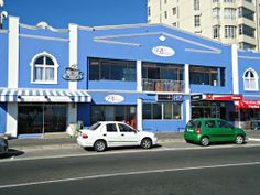 99 on Beach - Strand Beach Road - popular coffee shop with permanent art gallery - Strand - Western Cape - South Africa Best Family Beaches, Beach Road, Coffee Shops, Shopping Center, Long Beach, Cape Town, Homeland, Starbucks, South Africa