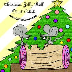 Glitter Lambs: Christmas Jelly Roll Glitter Topper Nail Polish By Glitter Lambs **** VERY Limited Amount***