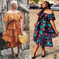 2018 Most Creative Ankara Styles And Designs Ankara Short Flare Gowns, Short African Dresses, Latest African Fashion Dresses, Ankara Fashion, Short Dresses, Fashion Outfits, African Print Skirt, African Print Dresses, African Print Fashion