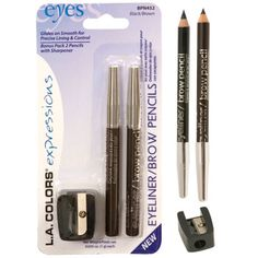 L.A.Colors Eyeliner/Brow Pencil - These are so cheap and work so well!