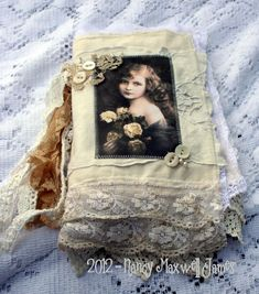 Whispers Vintage Fabric Book by Nancy Maxwell James.