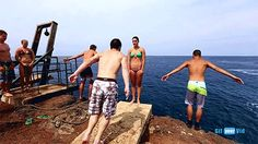 THE MOST AMAZING CLIFF DIVING VIDEO