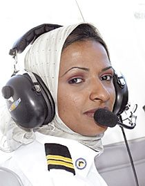 hanadi zakaria al-hindi - the first saudi woman pilot