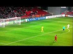 Shaktar - Nordsjaelland gesto antisportivo del secolo HD di Luiz Adriano