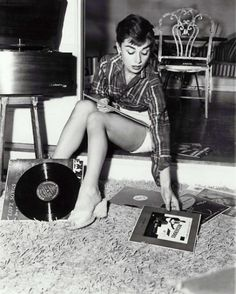 I like timeless things. There's just nothing like the sound of vinyl and the classic beauty of Audrey Hepburn.