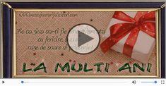 La multi ani de ziua ta! Happy Birthday Me, Motto, Gifts, Presents, Favors, Mottos, Gift