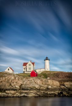 Nubble Light (York, Maine)    - 2 minute exposure with the Lee Big Stopper (10-stop ND filter)