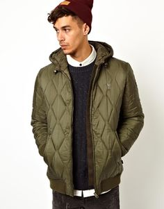 Wesc Quilted Coat Gerber With Hood