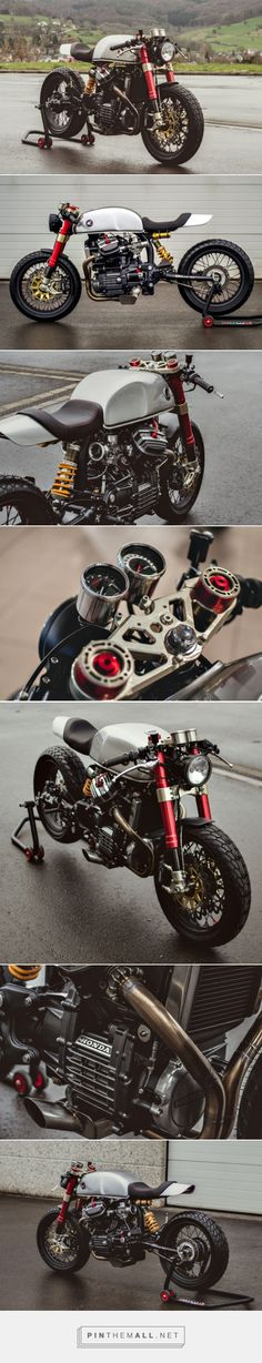 Ready to race: Sacha Lakic's CX500 cafe