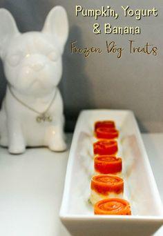 Dog Biscuit Recipes, Dog Treat Recipes, Healthy Dog Treats, Dog Food Recipes, Baking Recipes, Homemade Dog Cookies, Homemade Dog Food, Pumpkin Yogurt, Frozen Dog Treats