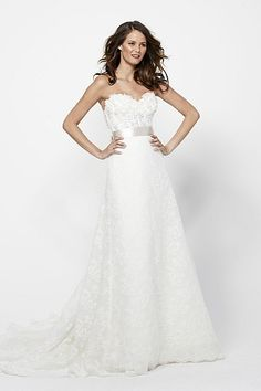 Watters Brides Lucia Skirt Two piece wedding dress