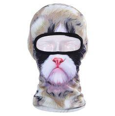 Tan Cat Ski Mask