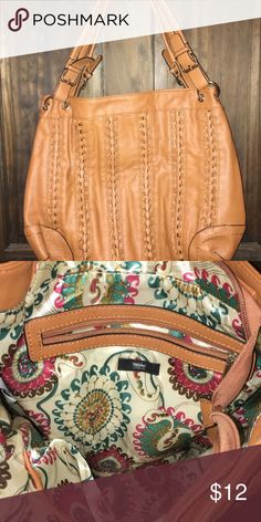 Large tan bag Never used, bought for a friend. Mossimo Supply Co Bags Shoulder Bags