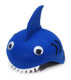 Shark party hat