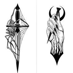 Tattoo Hand Snake Old School - Tattoo Witchcraft Tattoos, Occult Tattoo, Wiccan Tattoos, Hand Tattoos, Body Art Tattoos, Tattoo Sketches, Tattoo Drawings, Tattoo Studio, Kunst Tattoos