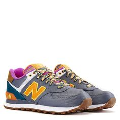 New Balance 574 Women's Grey Lifestyle Shoes | Shiekh Shoes