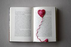 bookmark Red Balloon, Balloons, Heart Bookmark, Imagination Station, Red Felt, Chinese New Year, Homemade Gifts, Bookmarks, Ravelry