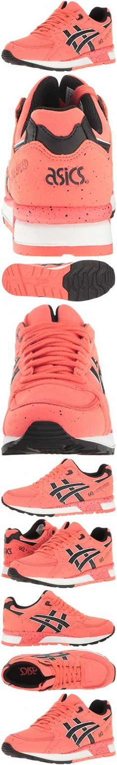 ASICS Men's Gel-Lyte Speed Fashion Sneaker, Hot Coral/Black, 4 M US