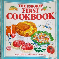 My first cookbook, albeit a bit battered from use!