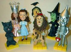 Wizard of Oz Bobble Heads!