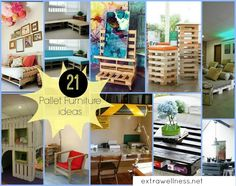 Check out the best 21 DIY and inexpensive Pallet furniture plus Sofa Plan And Ideas that I think is awesome and you could make and use in your home today!
