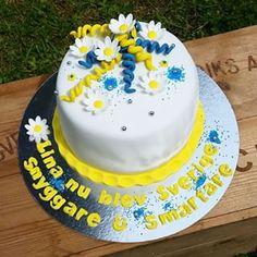 blågul tårta - Sök på Google