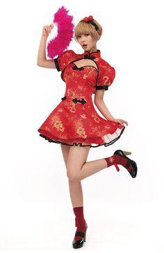ニーハオ!チャイナドレスを着てる可愛い女の子画像集! - NAVER まとめ