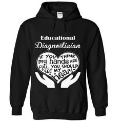 Educational Diagnostician #Tshirt #style. GET  => https://www.sunfrog.com/No-Category/Educational-Diagnostician-2128-Black-Hoodie.html?id=60505