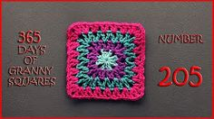 (10) 365 days of granny squares 205 - YouTube