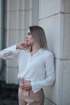 Bell Sleeves, Bell Sleeve Top, Look Fashion, Ruffle Blouse, Tops, Women, Woman