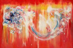 凤凰phoenix 110cm x 200cm 布面油画 Oil on Linen