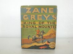 Big Little Book Zane Greys King of the Royal by Bibliology, $17.00
