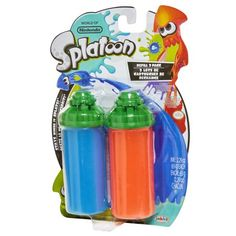 Splatoon Splattershot Refill 2 Packs -Blue / Orange Image 3 of 4 Nintendo Splatoon, Pretend Play, Fnaf, Blue Orange, Party Supplies, Lime, Packing, Hipster Stuff, Bag Packaging