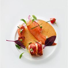 Pascal Barbot, L'Astrance. Lobster, Satay, Peanuts