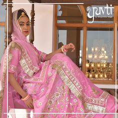 Turning heirloom traditions to contemporary tales. Shop at Yuvti, your very own destination for Rajputi dresses. Rajasthani Bride, Rajasthani Dress, Traditional Trends, Traditional Dresses, Dress Indian Style, Indian Dresses, Pakistani Outfits, Indian Outfits, Rajputi Dress