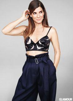 glamour:  Sandra Bullock, Glamour's November cover star. Photo:Matt Irwin