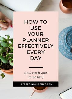 Want to know how to use a planner effectively? Whether you use it for work, for life, or organizing in general, these 7 tips will show you how to reach your goals and crush your to do list. Click to read the post now and save this pin for others!