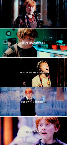 "Ron Weasley - ""Ron Weasley wasn't just Harry Potter's best friend. He was a hero in his own right."""