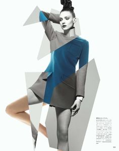 visual optimism; daily fashion fix.: organic neo-tech: kati nescher by solve sundsbo for vogue japan october 2012