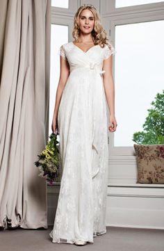 Lindos vestidos de novias para embarazadas   Colección Gorgeous