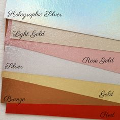 Excited to share the latest addition to my #etsy shop: Brushed Metallic felt in 5 new colours - Light Gold, Rose Gold, Holographic Silver, Bronze and Red! https://etsy.me/2HLMIma