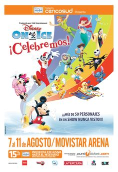 Disney On Ice - 07 al 11 de agosto - Movistar Arena