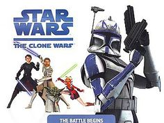 The Clone Wars by Rob Valois (2008, Hardcover) A picture book of the new computer generated animated movie retells the adventures!