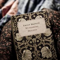 "17) Wuthering Heights, Emily Brontë, 1847 ""It doesn't seem like you're into this anymore. I'd hope you would tell me."" (photo by i am not Ana)"