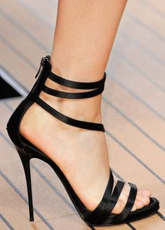 Lovely Black Heels - Classical, Modern