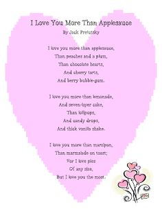 valentine poems i love you