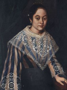The Asuncion family: Exhibition celebrates legacy of remarkable artistic clan Filipino Art, Filipino Culture, Traditional Fashion, Traditional Dresses, Philippines People, Filipiniana Dress, Filipino Fashion, 1800s Fashion, Women's Fashion